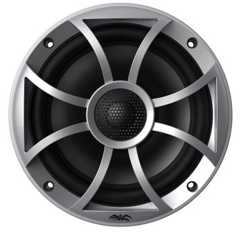 "Wet Sounds OEM Replacement 65ic-S XS-Series Silver Cone 6.5"" Coaxial Speakers Pair"