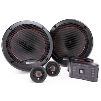 "MB Quart PS1-216 6.5"" Component Speakers with PK1-169 6x9"" Coaxial Speakers Premium Bundle"