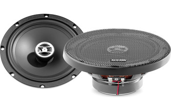 "Focal Bundle- Two pairs of Rcx-165 Auditor Series 6.5"" coaxial Speakers with 4-channel Amplifier and wiring Kit"