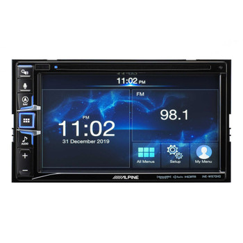 "Alpine Bundle - INE-W970HD 6.5-Inch Nav Receiver with PAC RPK4-CH4101 2013-19 Ram Truck W/8"" Screen Installation Kit"