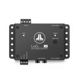 JL Audio Refurbished LoC-22: Fully Active, Two-Channel Speaker Level to Line Output Converter with Auto Turn-On