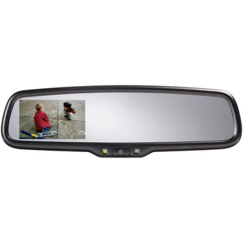 "Advent ADVGENM2S Gentex Auto Dimming Rear View Mirror with 3.3"" Camera Display"