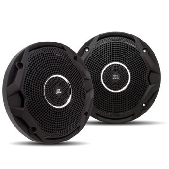 JBL MS65010BK OEM Replacement Speakers - 4 Pairs of Marine 6.5 Inch DUAL CONE Speakers - Black