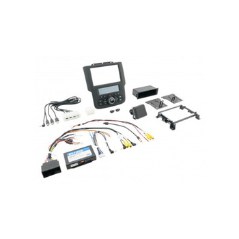 PAC RPK4-CH4101 RadioPRO Integrated Installation Kit with Integrated Climate Controls For Select 2013-2018 RAM Trucks wi