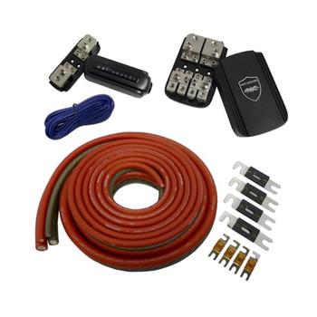 Wet Sounds Rear Battery 2 Amplifier Power Kit