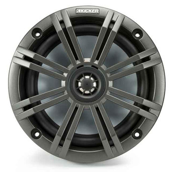 """Kicker OEM Replacement 8"""" RGB LED Speakers in Charcoal & SSV US2-C8U-175 8"""" Universal Pods with 1.75"""" Clamps"""