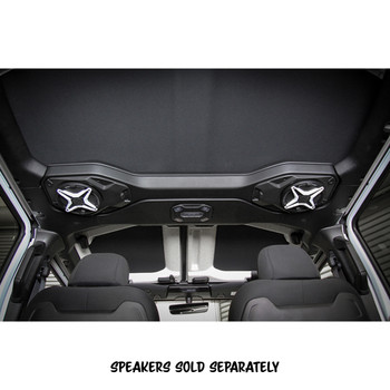 SSV Works JJT-SAO65 compatible with Wrangler JL and JT overhead soundbar 6.5in speaker adapter