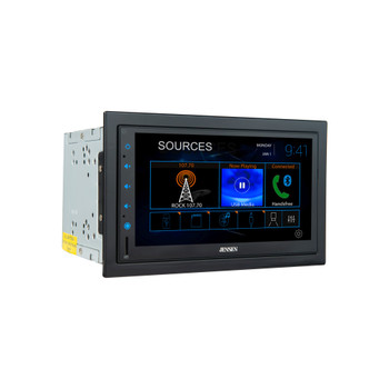 """Jensen CMR8629 6.8"""" Capacitive touchscreen Built-in Bluetooth technology with Jensen BUCAM400AJ Back Up Camera"""