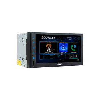 "Jensen CMR8629 6.8"" Capacitive touchscreen Built-in Bluetooth technology with Jensen BUCAM400AJ Back Up Camera"