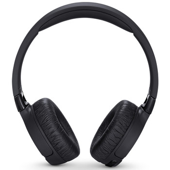 JBL Black Tune On-Ear Wireless Headphones with ANC and On-Earcup Controls