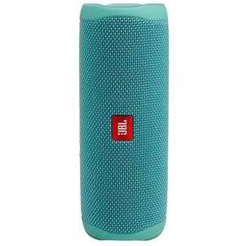 JBL FLIP5 Teal Waterproof portable speaker with Bluetooth, built-in battery, microphone
