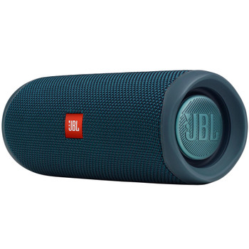 JBL FLIP5 Blue Waterproof portable speaker with Bluetooth, built-in battery, microphone