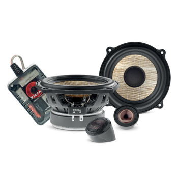 """Focal PS 130 FE FLAX EVO 5.25"""" 2-way component kit, RMS: 60W - MAX: 120W PS130FE"""