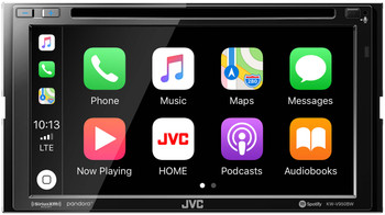 JVC KW-V950BW compatible Wireless CarPlay Wireless Android Auto 2-DIN Open Box
