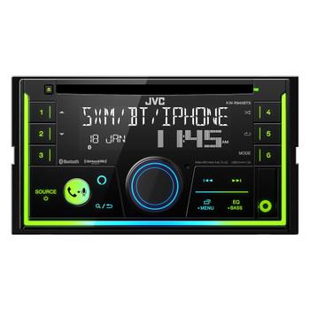 JVC KW-R940BTS 2-Din CD Receiver featuring Bluetooth / USB / SiriusXM / Amazon Alexa / 13-Band EQ / JVC Remote App