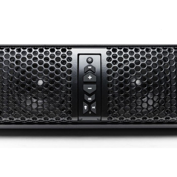 MB Quart Nautic NSB10V1 Amplified 10-speaker sound bar with built-in Bluetooth and LED lighting
