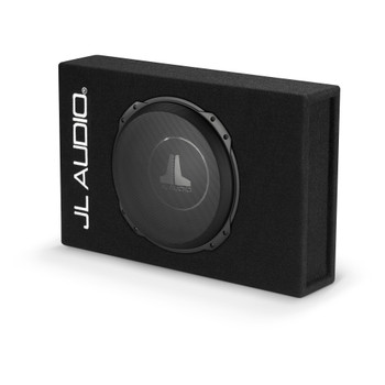 JL Audio CS112LG-TW3:Single 12TW3 PowerWedge Sealed 2 Ohm - Used Acceptable