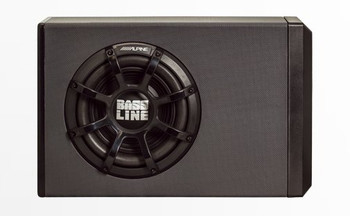 Alpine PWA-S10V Powered Subwoofer Enclosure with 10 BASSLINE Subwoofer - Open Box