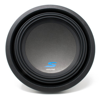 """Alpine S-A60M Mono Amplifier and a S-W10D4 S-Series 10"""" Dual 4-Ohm Subwoofer - Includes wire kit"""