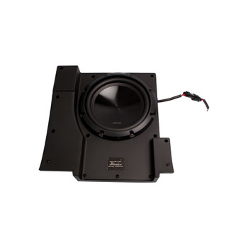 Alpine SBV-10-WRA 10-Inch Subwoofer for 2007-2018 Jeep Wrangler with S-A60M Amplifier, wire kit and bass knob