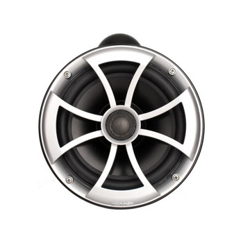 """Wet Sounds ICON8-BX ICON 8"""" Marine Tower Speakers with X Mount kit - Pair Black"""