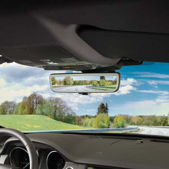 Audiovox GENFDM3LN Rear View Mirror with Auto-Dimming, Display Mode, and Back Up Camera Mode
