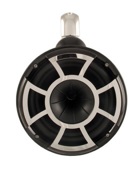 Wet Sounds REV 10 Fixed Clamp Tower Speakers - Black (Pair)