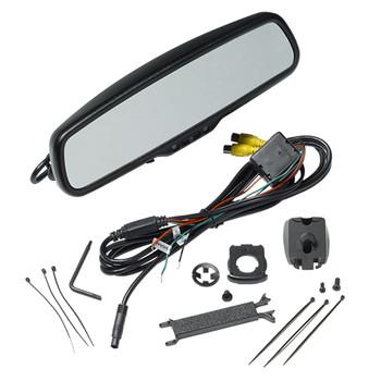 "Advent RVM200 Rear View Mirror w/4.3"" Monitor, 2 inputs Includes Standard mount & Mounts For Honda, Kia, & Hyundai"