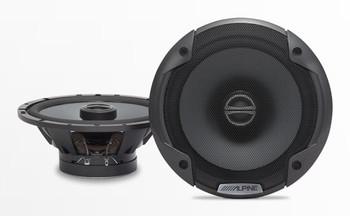 "Alpine Bundle 1-Pair SPE-6090 6x9"" Coax speakers, 1-Pair SPE-6000 6.5"" Coax, BBX-F1200 280W 4-Ch Amp and Wiring"
