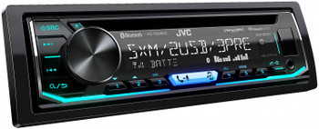 JVC KD-T905BTS 1-DIN CD Receiver featuring Bluetooth / Front & Rear Dual USB / SiriusXM / Pandora - Used Very Good