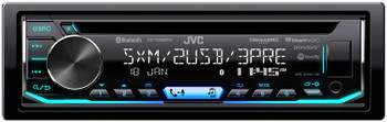 JVC KD-T905BTS 1-DIN CD Receiver featuring Bluetooth / Front & Rear Dual USB / SiriusXM / Pandora - Used Very Good