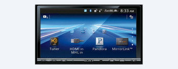 Sony XAV-712HD 7 in (17.8 cm) LCD DVD Receiver with MirrorLink - Used Very Good