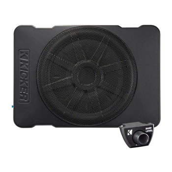 Kicker 46HS10 Hideaway Compact Powered Subwoofer, 10-Inch - Open Box