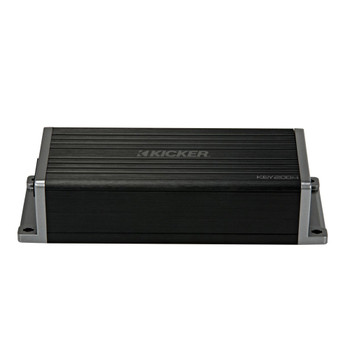 Kicker 47KEY2004 KEY 4-Channel DSP Smart Amplifier, 4x50W