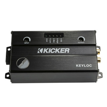 Kicker 47KEYLOC Key Series Smart Powered Line-Out Converter