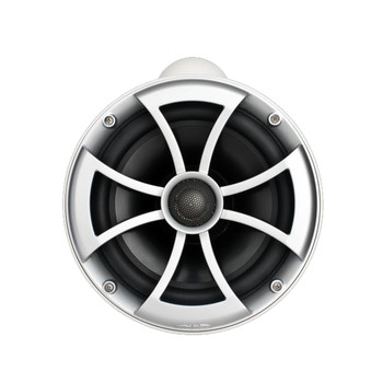 """Wet Sounds ICON8-WX ICON 8"""" Marine Tower Speakers with X Mount kit - Pair White"""