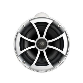 """Wet Sounds ICON8-WX ICON 8"""" Marine Tower Speakers w/X Mount kit - Pair White"""
