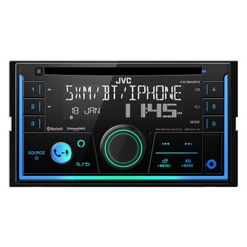 JVC KW-R940BTS 2-Din CD Receiver compatible with SXV300 SiriusXM Tuner, Bluetooth, and Amazon Alexa