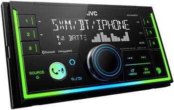 JVC KW-X840BTS 2-Din Digital Media Receiver compatible with SXV300 SiriusXM Tuner, Bluetooth and Amazon Alexa