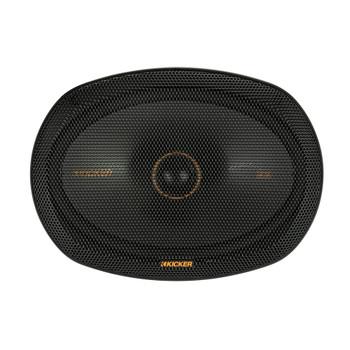 """Kicker 47KSC6904 6x9"""" (160x230mm) Coax Speakers With1""""(25mm) Tweeters, 4ohm"""