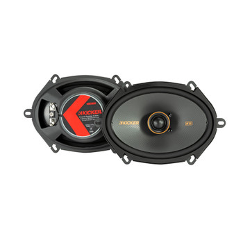 """Kicker 47KSC6804 6x8"""" (160x200mm) Coax Speakers With.75""""(20mm) Tweeters, 4ohm"""