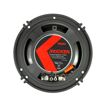 "Kicker 47KSC6504 KS Series 6.5"" Coaxial Speakers With .75"" Tweeters, 4ohm"