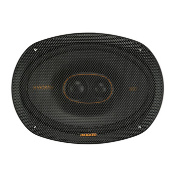"""Kicker 47KSC69304 6x9"""" (160x230mm) 3-Way Speakers With1""""(25mm) And .75""""(20mm) Tweeters, 4ohm"""