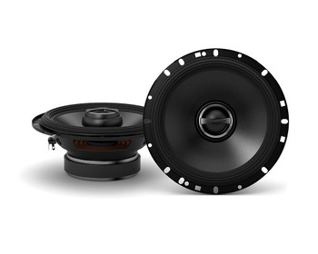 """Alpine 2-Pairs S-S65 6.5"""" Coax speakers with an Alpine S-A32F 320W 4-Ch Amp and Wiring"""