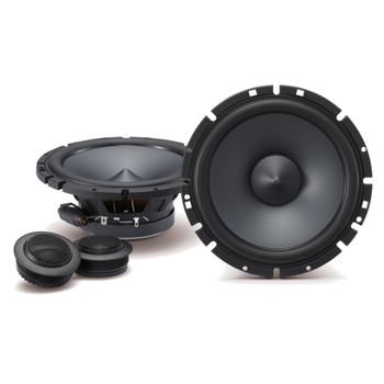 "Alpine 2-Pairs SPS-610C 6.5"" Component with Alpine BBX-F1200 280 Watt 4-Channel Amplifier and Wiring Kit"