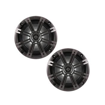 Kicker 6.5 Inch KM-Series LED Marine Speakers 41KM654LCW (Pair)