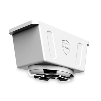 Wet Sounds Revolution Series 5x7 HLCD With Surface Mountable Roto-Mold Enclosure and Grill - White