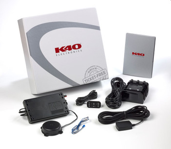 K40 RL200di Single Front Radar Detector and Dual LDO Dual Laser Diffuser