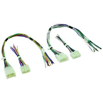 PAC KIT INCLUDES ONE EACH OF: APH-TY01, APH-TY02, APH-TY03, APH-TY04Amplifier Integration Harnesses