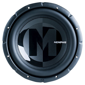 """Memphis Audio 15-PRX1244 12"""" Power Reference Dual 4-Ohm Subwoofer - 300 wRMS"""